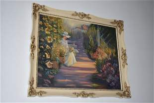 Irena Papartis Signed Original Oil Painting