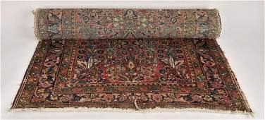 Antique Hand Knotted Persian Sarouk Style Runner