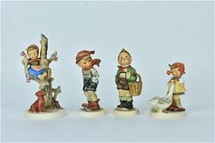(4) Hummel Figurines