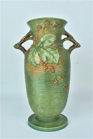 """Roseville """"Bushberry"""" Floor Vase"""