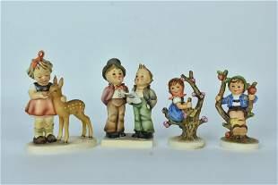 (4) Goebel Hummel Figurines