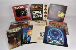 Records Incl Steppenwolf Led Zeppelin