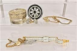 Lot of Vintage Ladies Jewelry, Includes 14k Watchs