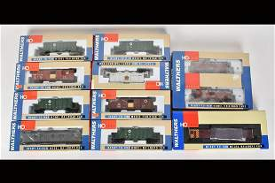(11) Walters HO Scale Train Cars