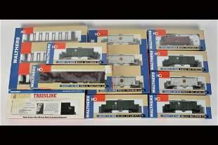(10) Walthers HO Scale Train Cars