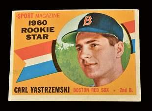 1960 Topps Carl Yastrzemski baseball rookie card