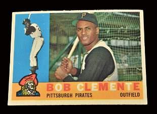1960 Topps Roberto Clemente #326 baseball card