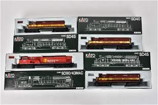 (4) Kato HO Scale Diesel Locomotives