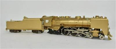 Japanese Nickel Plate Products Brass Loco