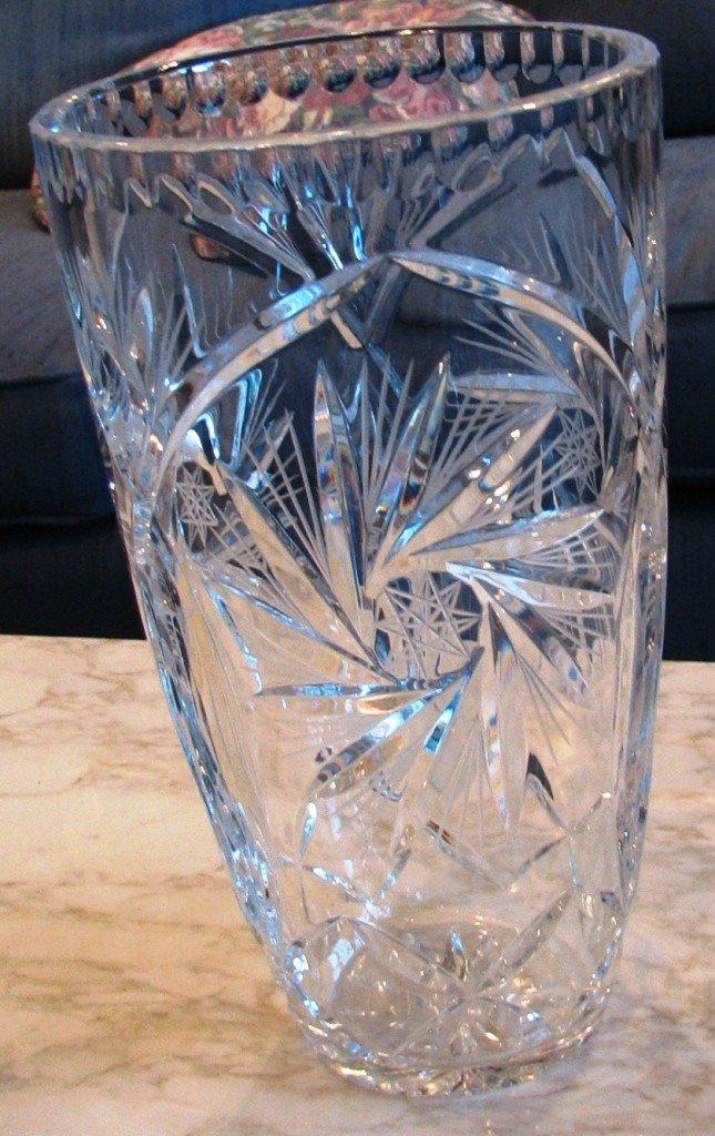 2: Crystal Vase