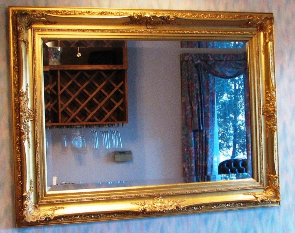 4: Gold Framed Mirror
