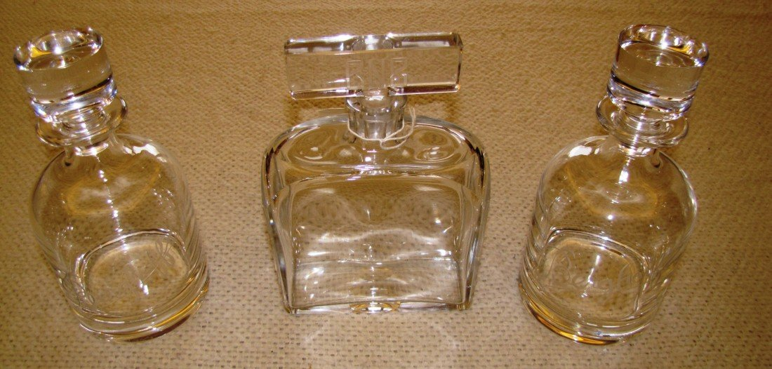 3: (4) Berghoff Decanters