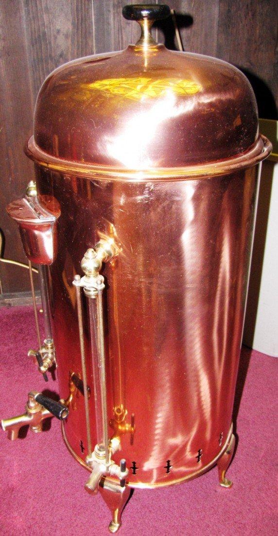 242: Large Copper Coffee Urn