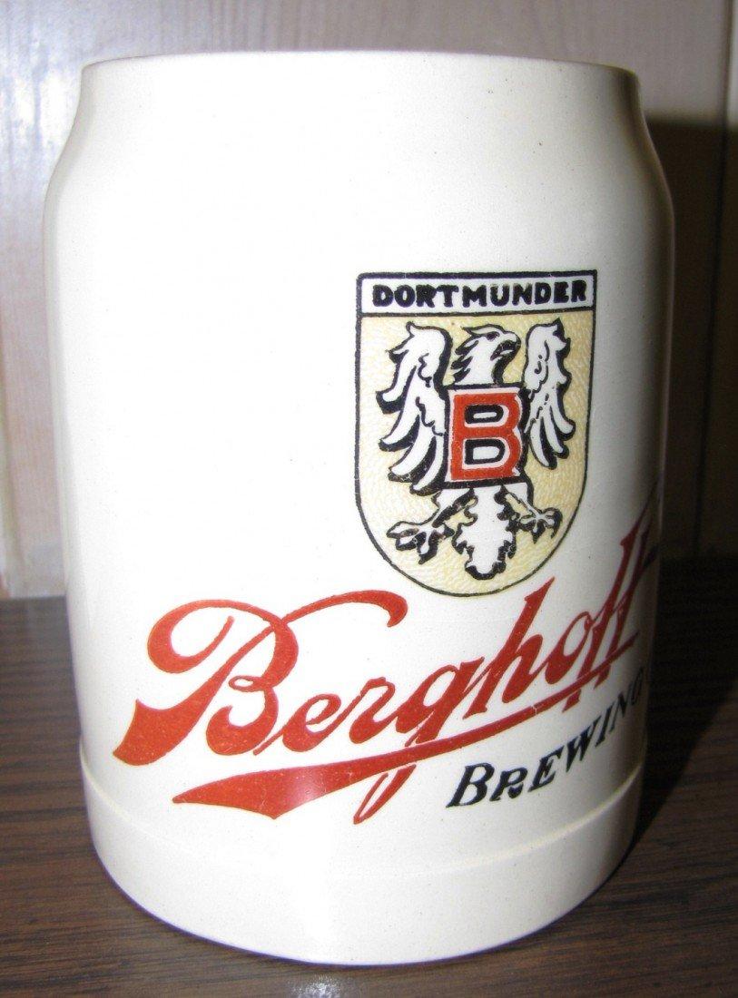 10A: Rare Hugo Thuemler Berghoff Dortmunder Mug