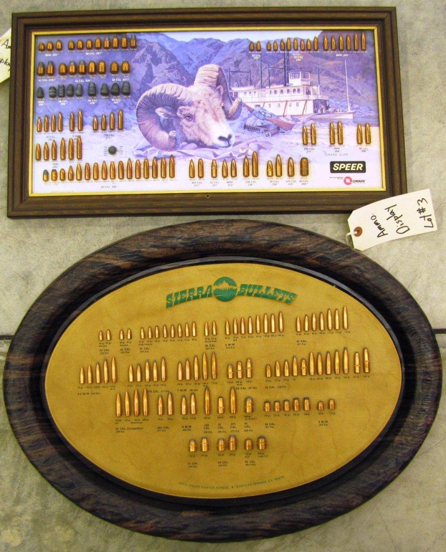 3: Sierra & Speer ammunition displays