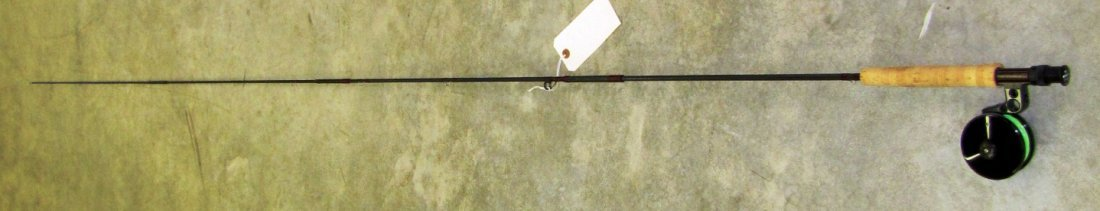 4: Orvis fly fishing rod with Abel reel