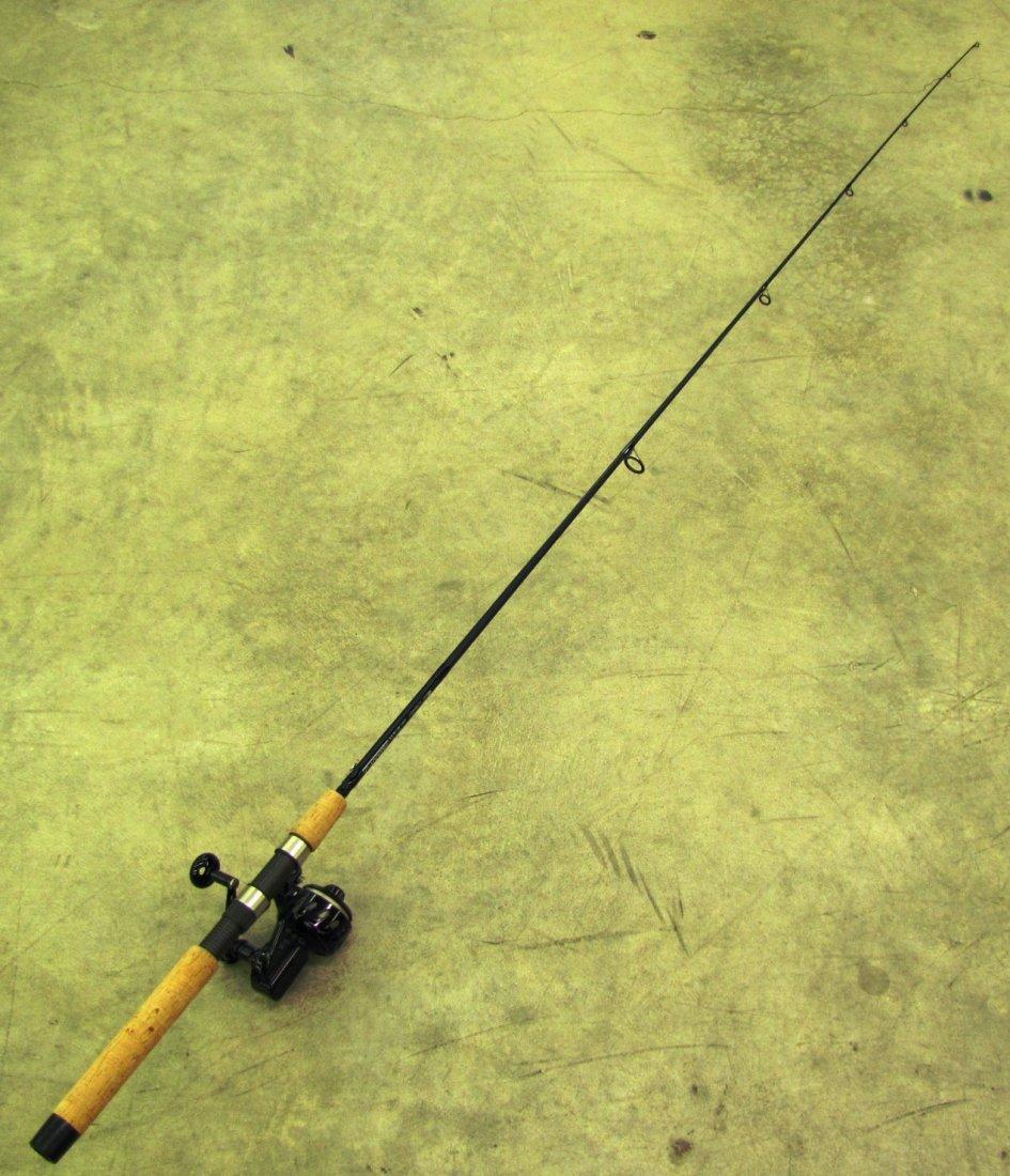 7: Loomis GL2 fishing rod with Van Staal spinning reel