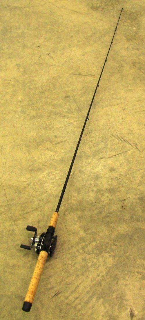 9: G Loomis fishing rod with Daiwa Procaster reel