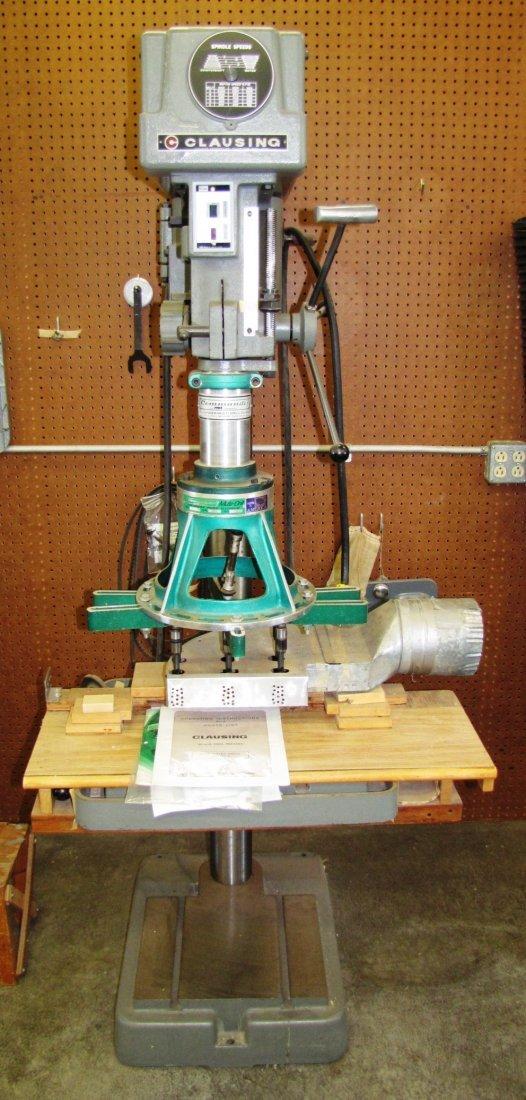 16: Clausing 20-inch drill press w/ Commander Multi Bit