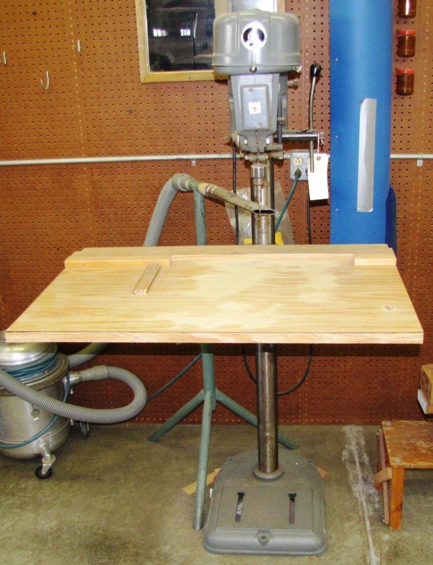 17: Rockwell floor model drill press