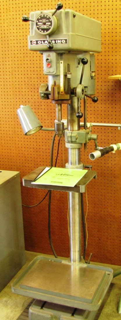 """18: Clausing 15"""" drill press"""