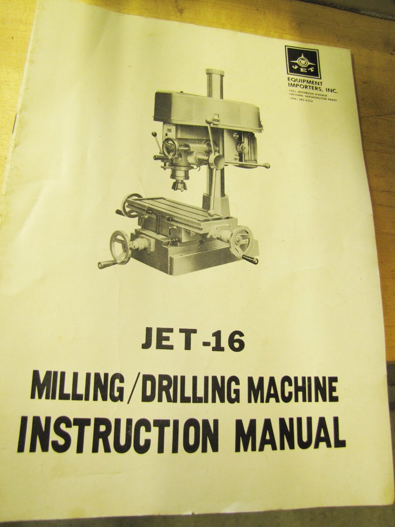 78: Jet-16 Milling/Drilling machine - 3
