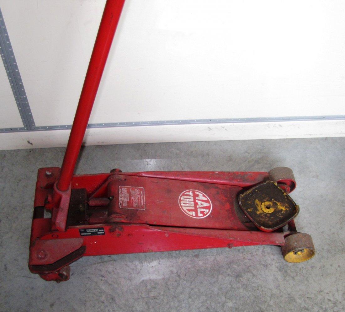 44A: 2 ton capacity Mac Tools floor jack - 2
