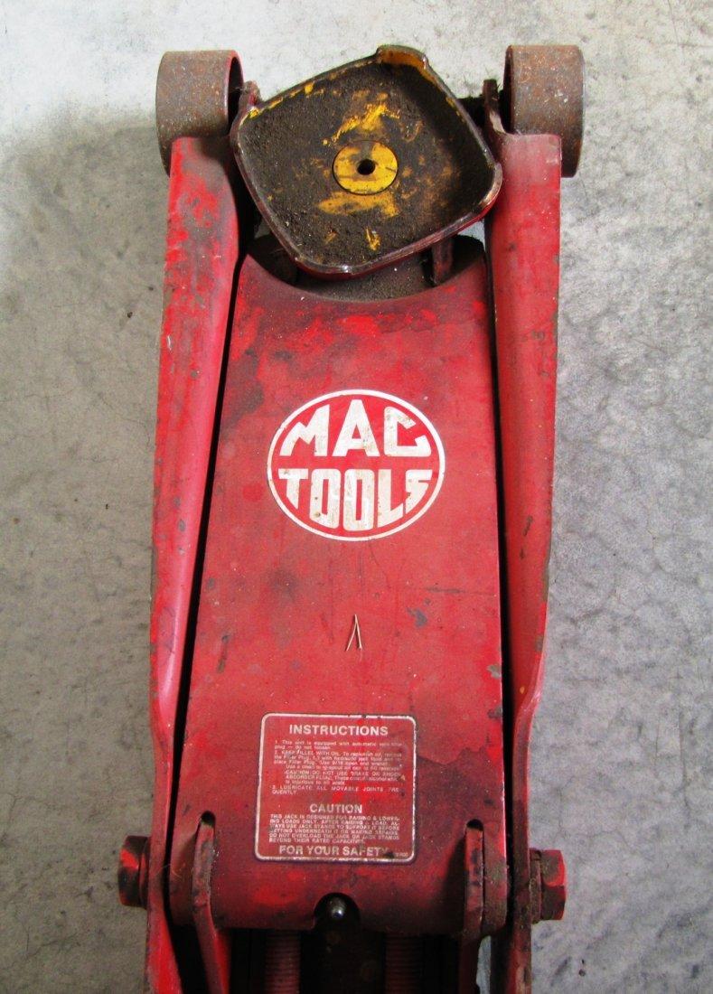 44A: 2 ton capacity Mac Tools floor jack - 4