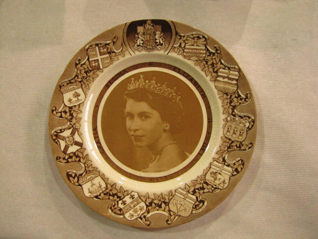 7: Canadian Elizabeth II commemorative plate