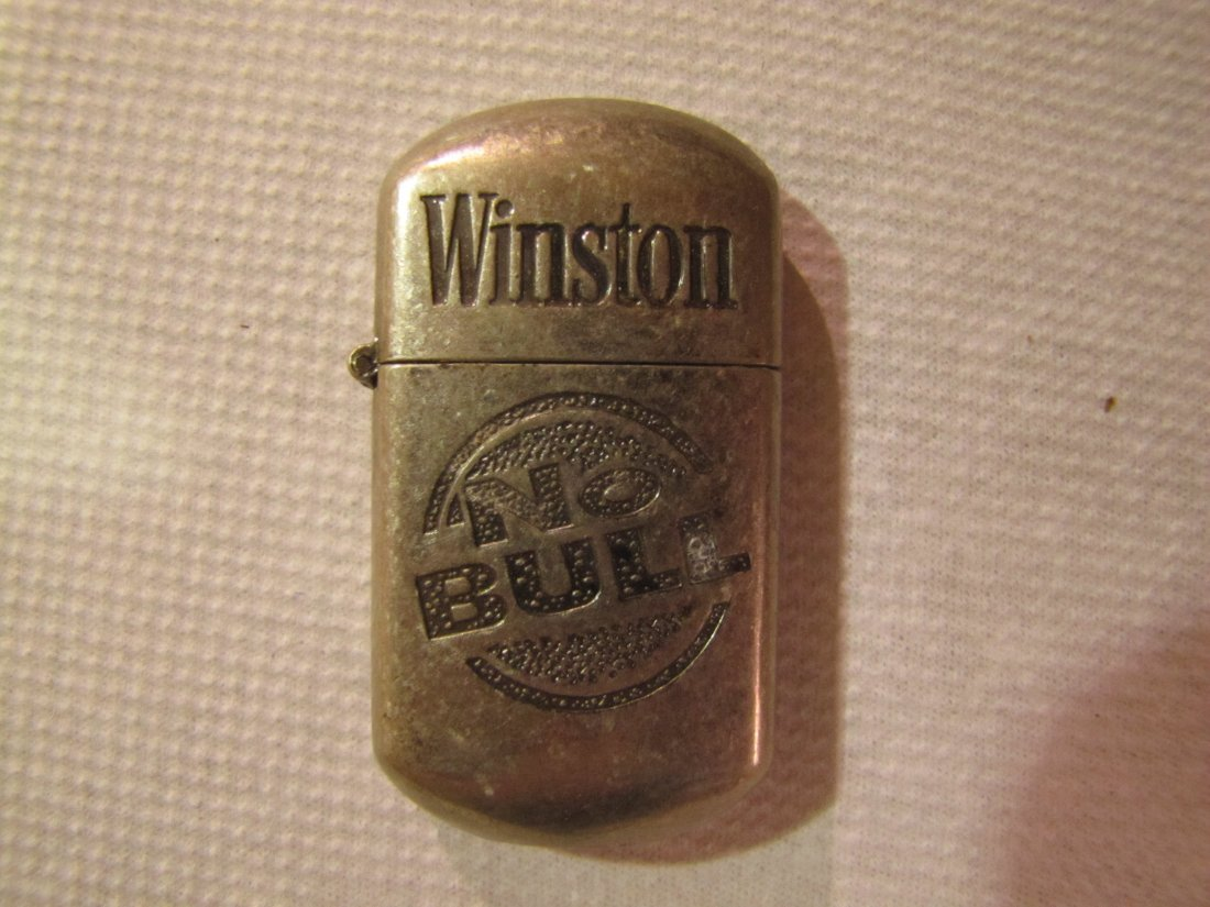"9: Winston ""No Bull"" pocket lighter"