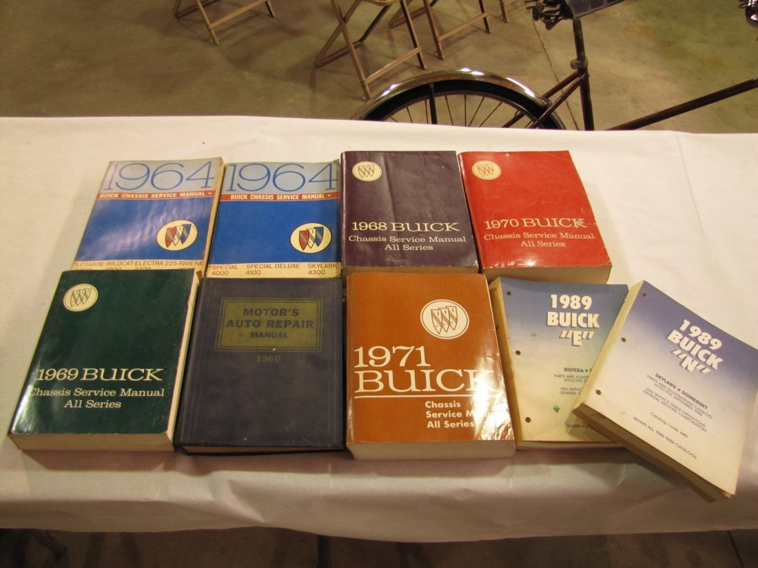 13: 1960's & 1970's Buick service manuals
