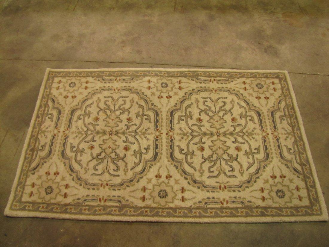 23: Woolmark medallion rug