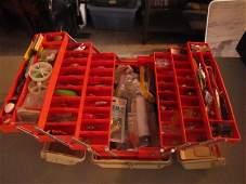 3: Tackle box with fishing tackle
