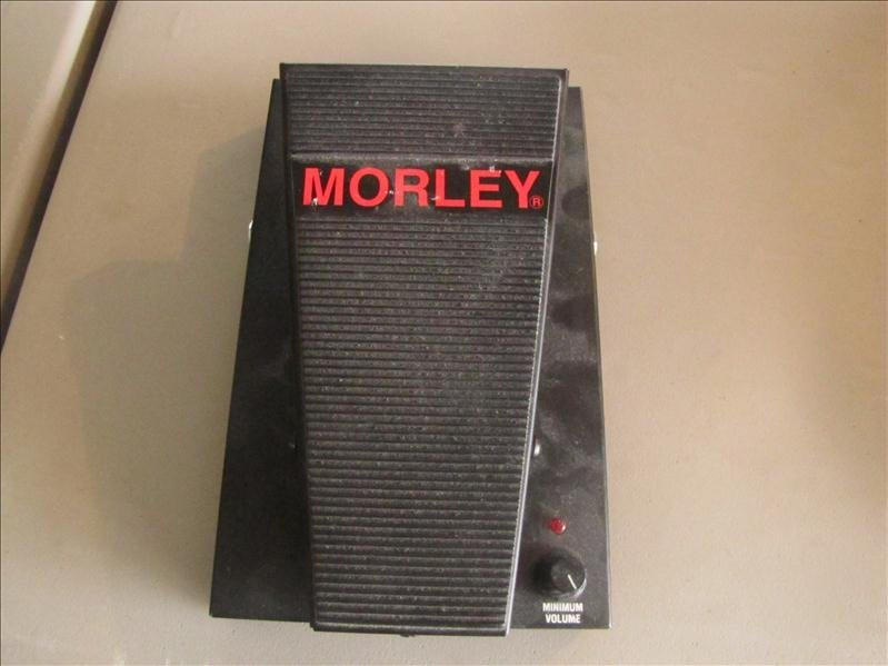 13: Morley guitar foot pedal