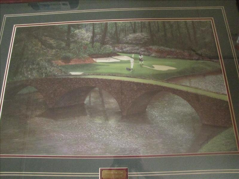20: Harrington Augusta The 12th golf print