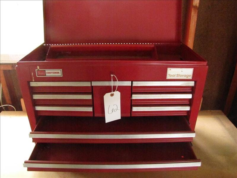 62: Sears craftsman tool storage box - 2