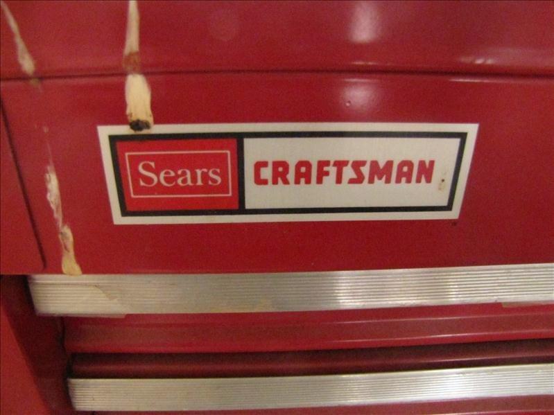 62: Sears craftsman tool storage box - 3