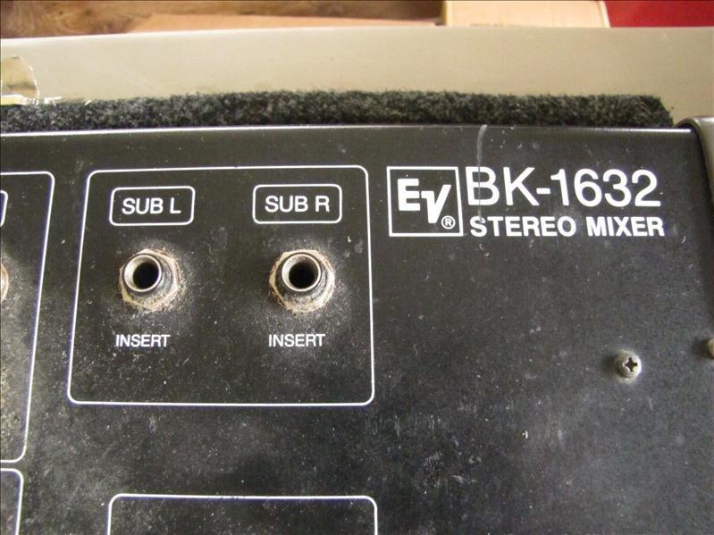 74: EV BK-1632 Stereo mixer board - 2