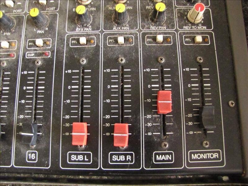 74: EV BK-1632 Stereo mixer board - 4
