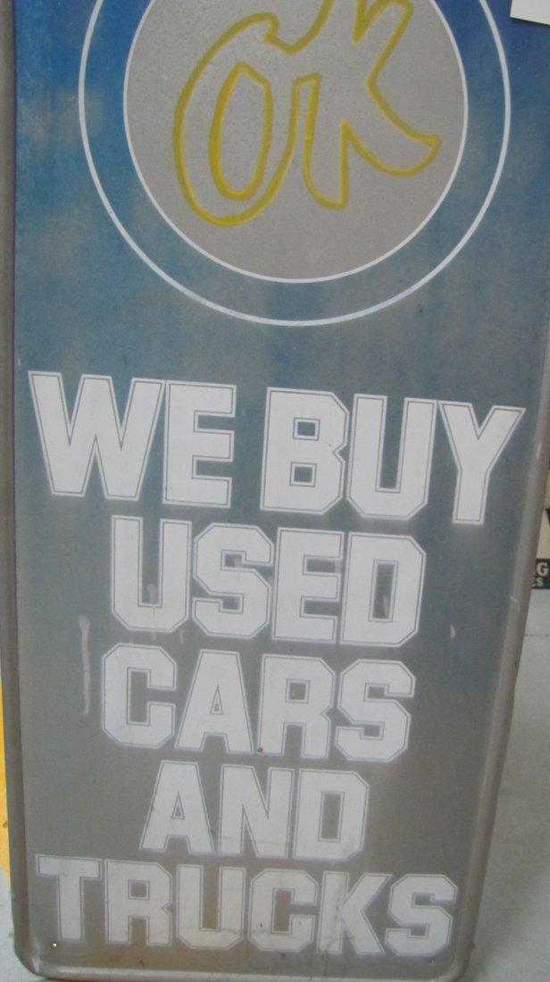 2: OK We Buy Used Cars & Trucks sign