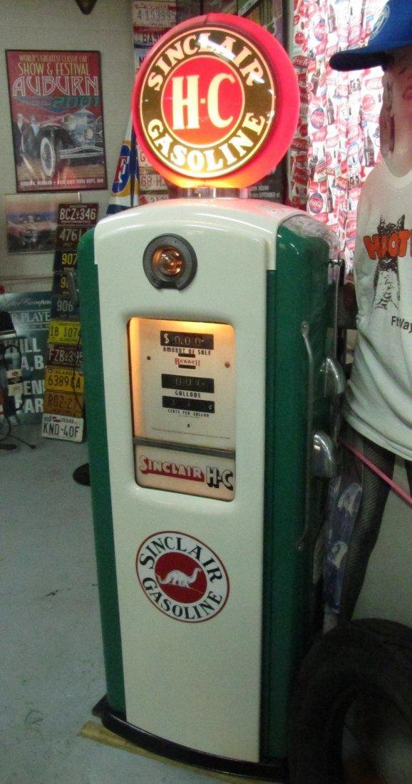 11: Sinclair Gasoline H-C  pump