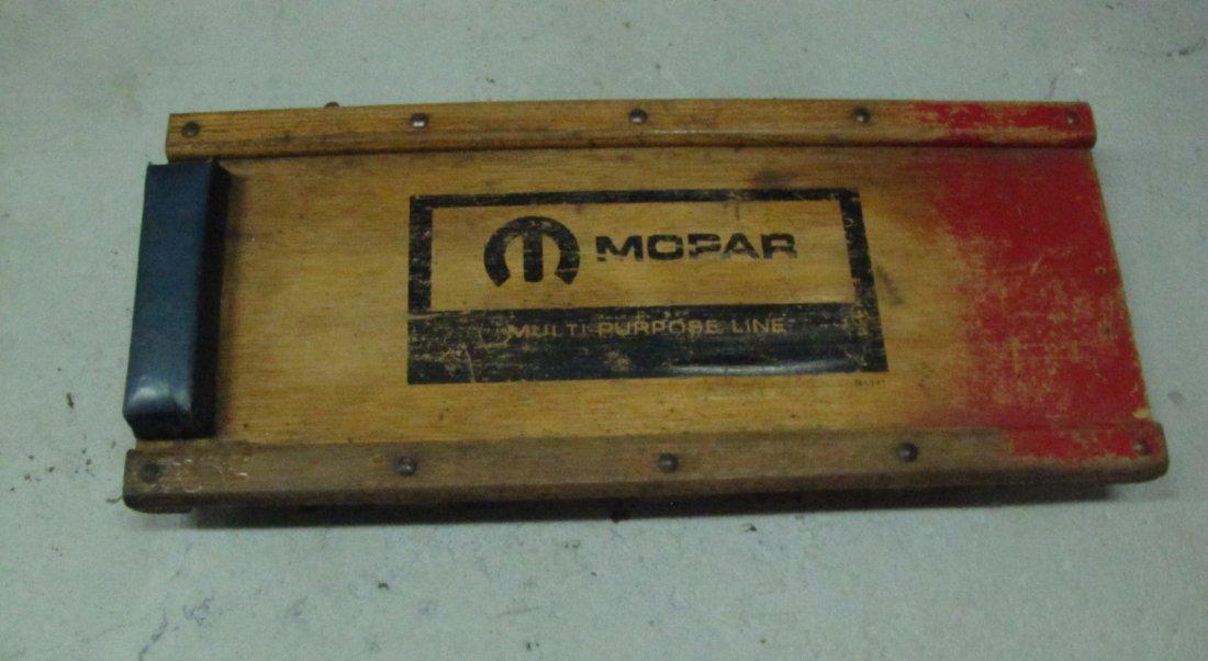 12: Mopar mechanics creeper