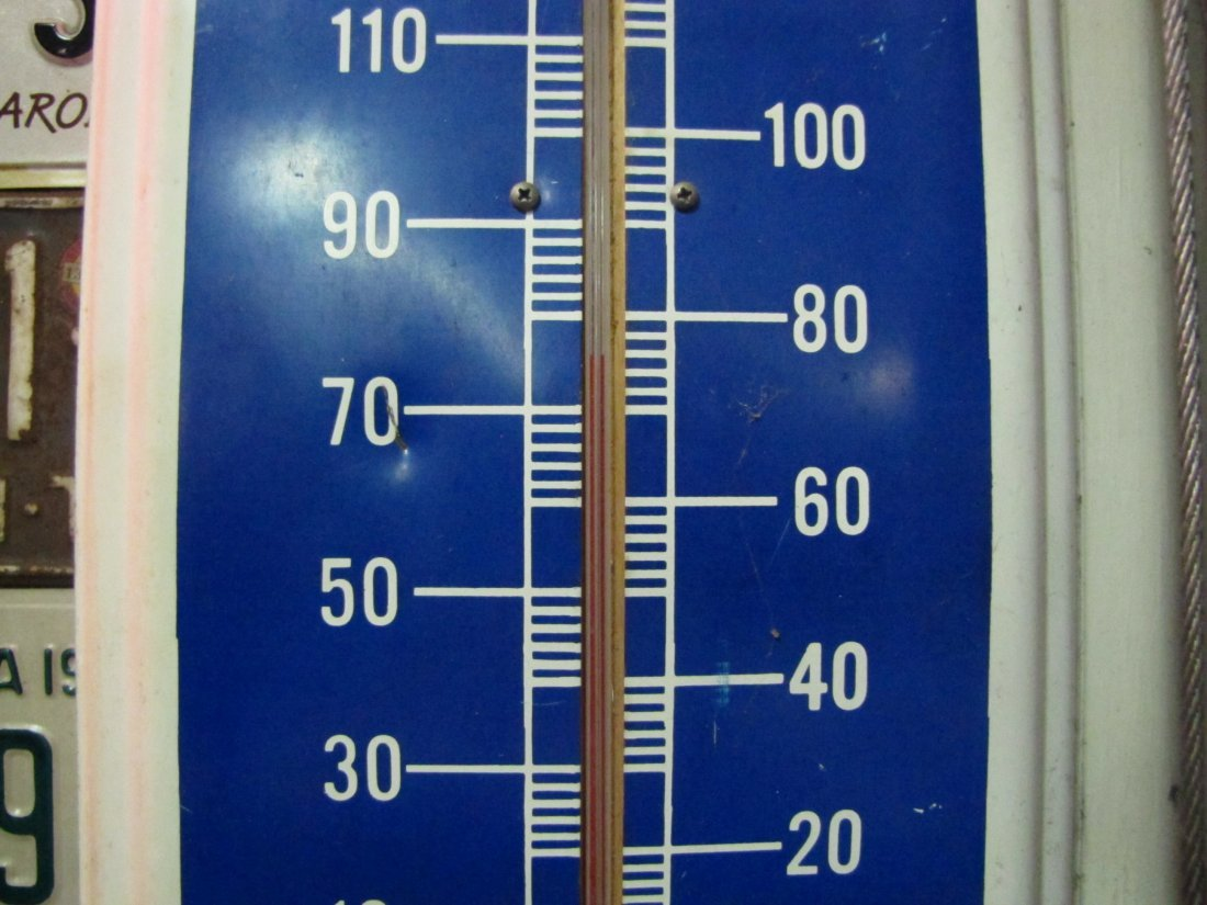 63: Packard Motor Cars Metal Advertising Thermometer - 4