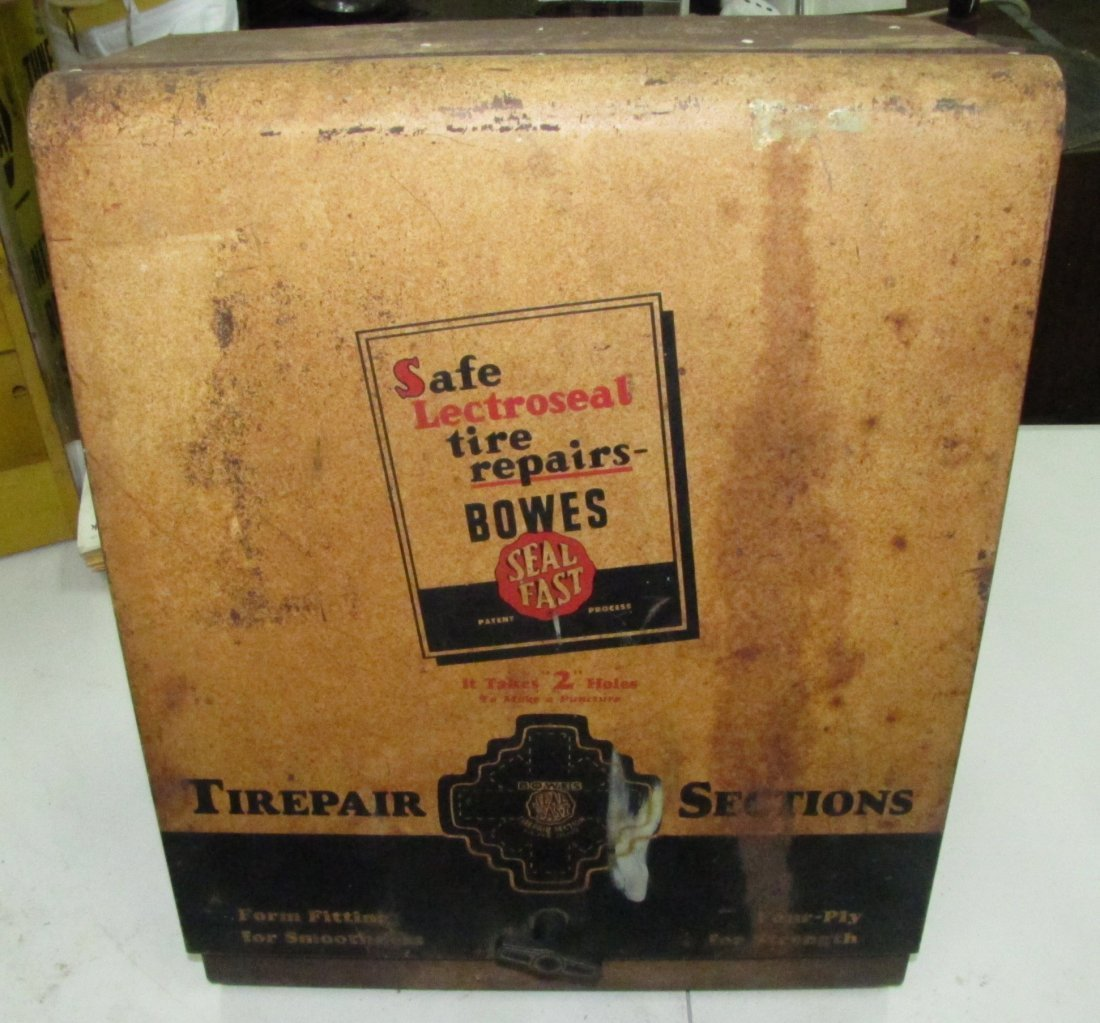 Bowes Seal Fast Tire repair cabinet
