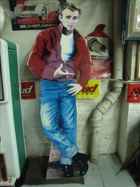 212: Life Size James Dean Cardboard Cutout