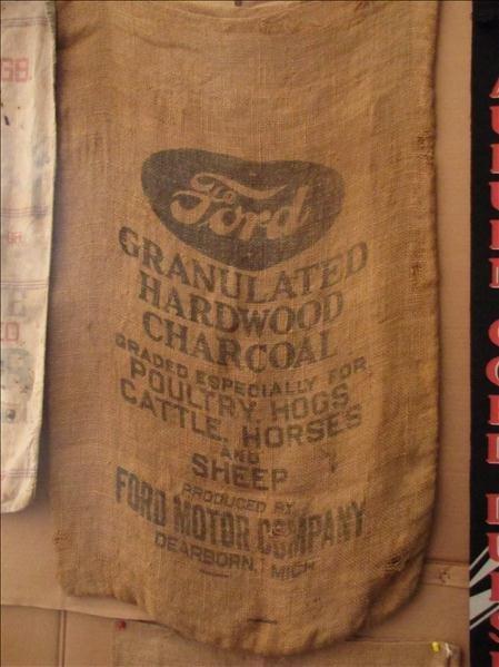 230: Ford Granulated Charcoal Gunny Sack Bag - 2