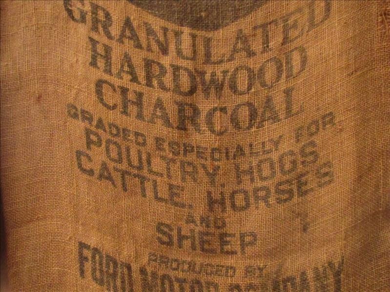 230: Ford Granulated Charcoal Gunny Sack Bag - 3