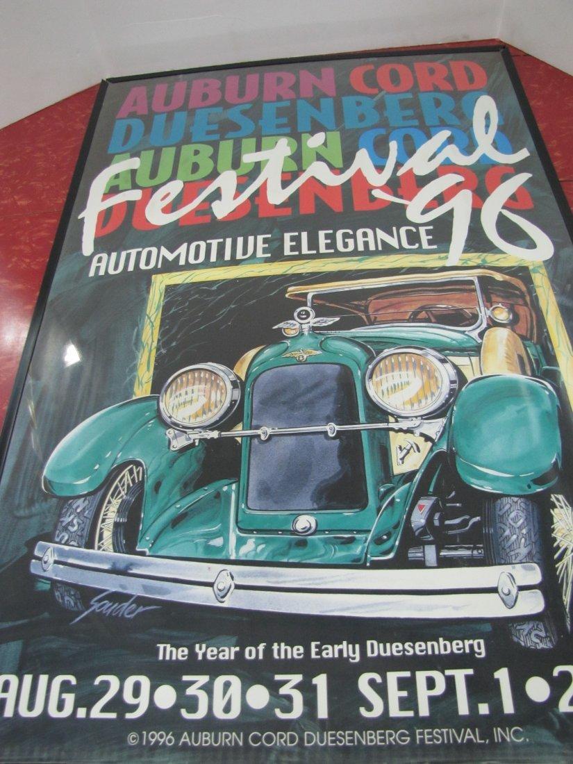 15A: 1996 Auburn Car Show Poster