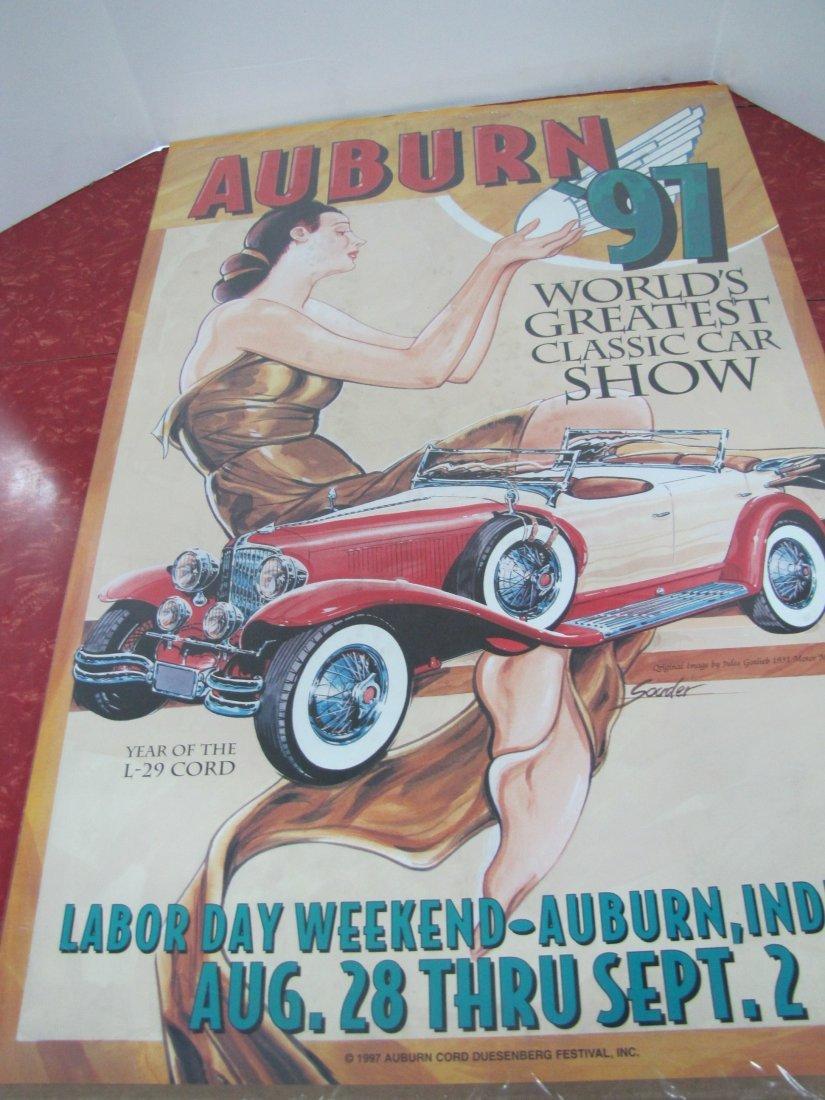 15B: 1997 Auburn Car Show Poster