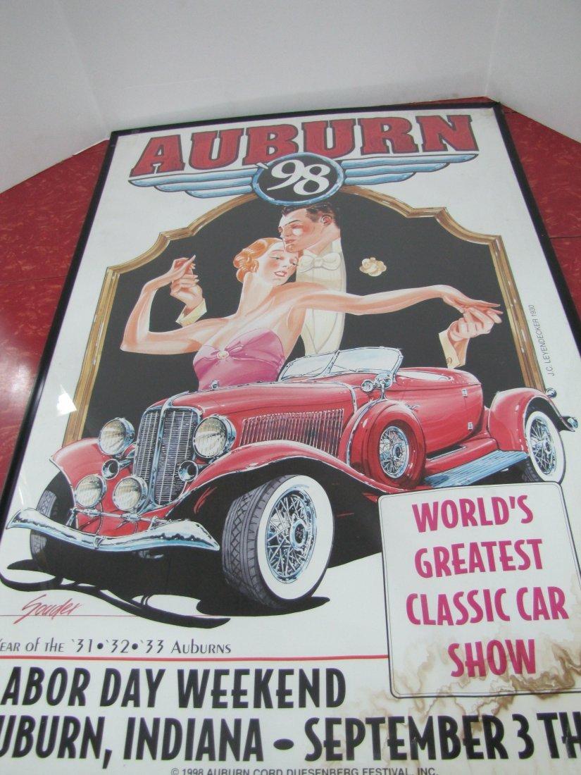 15C: 1998 Auburn Car Show Poster